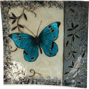 Angelstar Butterfly Square Plate (Set of 3)