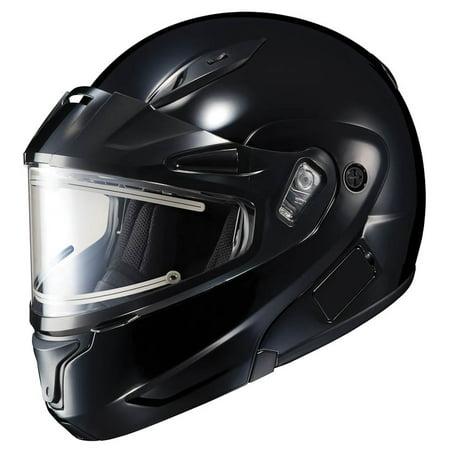 (HJC CL-MAX 2 Modular Snow Helmet w/Electric Shield Gloss Black)