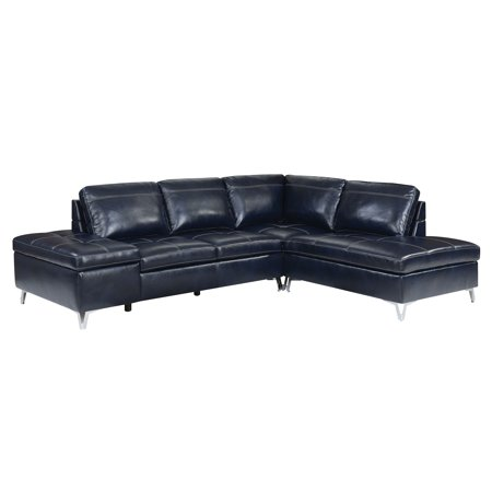 leather easy chair furniture of america brandon modern leather sectional sofa 16621 | 01b4cf9c 2da8 4a0b 86bf 401302095b0f 1.ec3a5f167e821e9c16621ef253152235