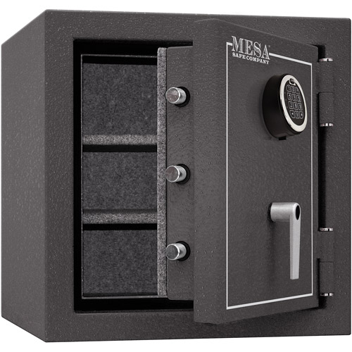 Mesa Safe MBF2020E Fire Resistant Security Safe with Electronic Lock, Hammered Grey by Mesa Safe Company