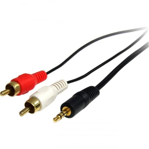 Startech Connectez votre ordinateur ou un lecteur audio à un périphérique audio Rca - Mini Jack Rca - image 1 de 1