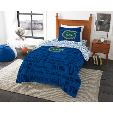- NCAA University of Florida Gators Bed in a Bag Complete Bedding Set