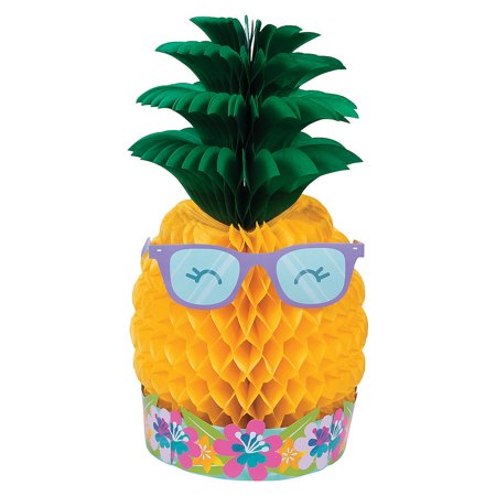 Pineapple 'n Friends Centerpiece - Pineapple Centerpiece Ideas