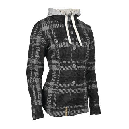 - Speed & Strength Romance Womens Long Sleeve Armored Shirt Black