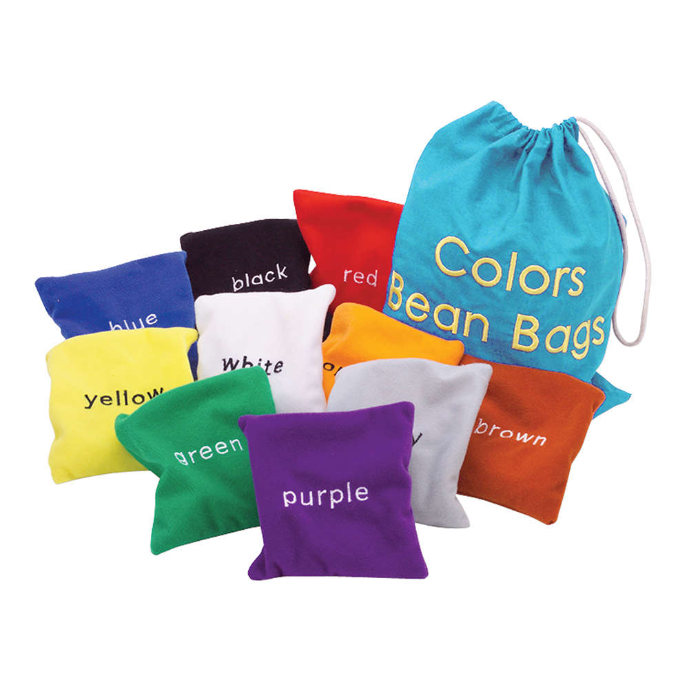 Educational Insights Colors Bean Bags