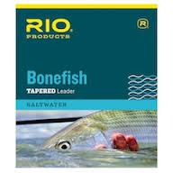 Rio Bonefish Tapered Leader 3 Pack 10' - Fly -