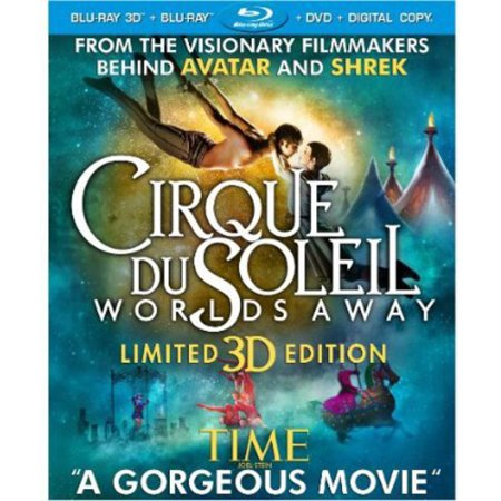 Cirque du Soleil: Worlds Away (3D Blu-ray + Blu-ray + DVD + UltraViolet) (Best Of Cirque Du Soleil)