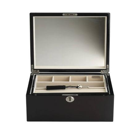 - Reed & Barton Natural Instinct Modern Lines Jewelry Box in Walnut