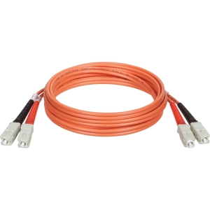 Tripp Lite 15M Duplex Multimode 62.5/125 Fiber Patch Cable (SC/SC)