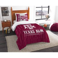 "NCAA Texas A&M Aggies ""Modern Take"" Bedding Comforter Set"