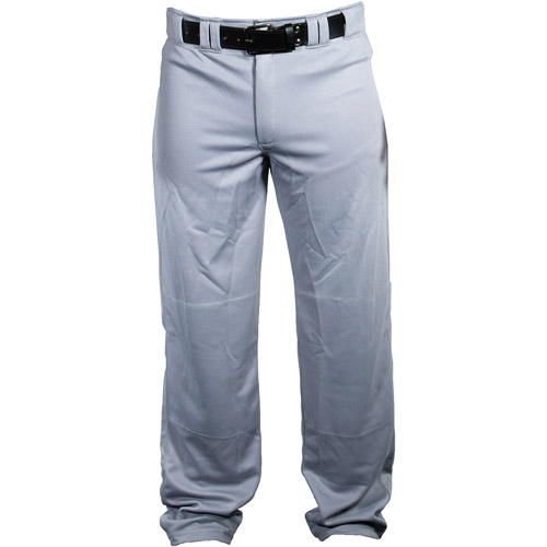 Louisville Slugger Men's Slugger Heavy-Warp Knit Boot-Cut Stadium Pants, Gray