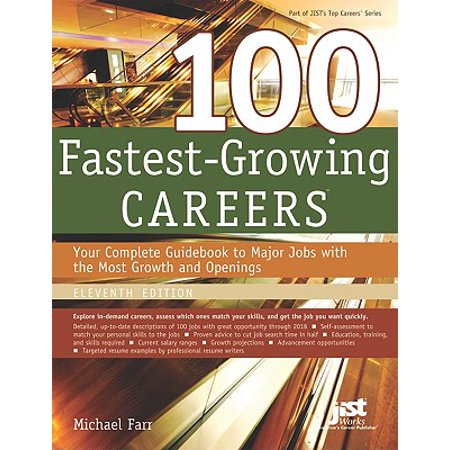 100 Fastest-Growing Careers : Your Complete Gudebook to Major Jobs with the Most Growth and Openings - Halloween City Job Openings