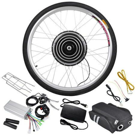 48v 1000w 26 front wheel electric bicycle motor kit for Best electric bike motor