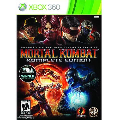 Mortal Kombat Komplete Edition (Xbox 360) - Pre-Owned