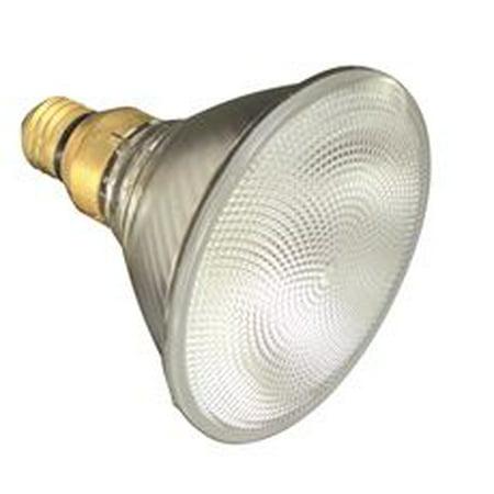 SYLVANIA CAPSYLITE HALOGEN FLOOD LAMP, PAR38, 39 WATT, 120 VOLTS, MEDIUM SKIRTED, DOUBLE LIFE