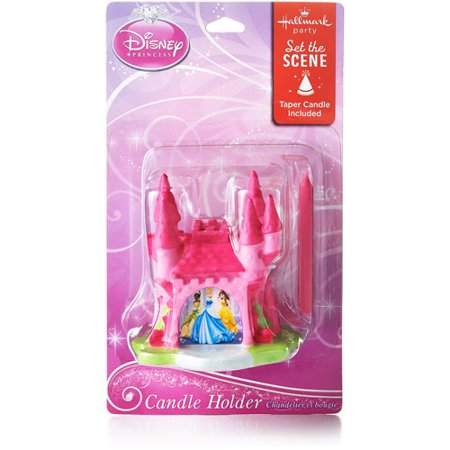 Hallmark Party Disney Princess Shaped Birthday Candle - Disney Princess Party Decor