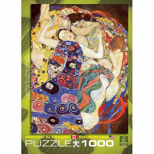 Generic EuroGraphics Klimt The Virgin 1000 - Piece Puzzle