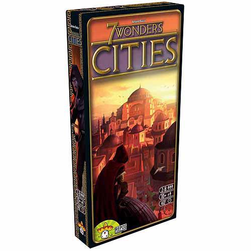 Asmodee 7 Wonders: Cities