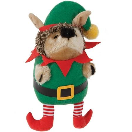 Elf Heggie Plush Dog Toy - Elf On The Shelf Plush Toy