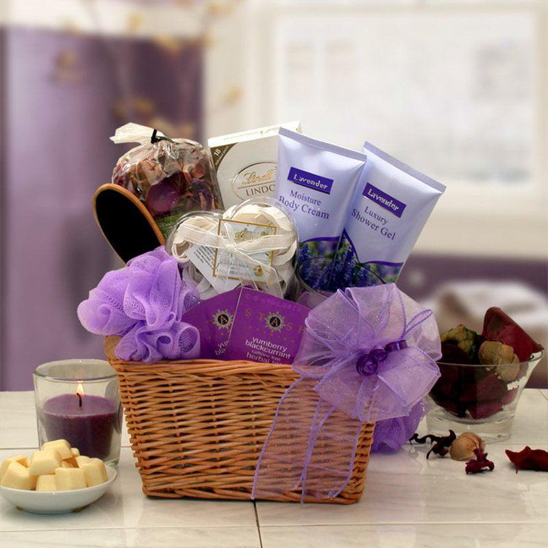 Gift Basket 8413712 Lavender Relaxation Spa Gift Basket