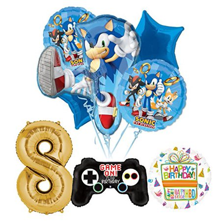 The Ultimate Sonic The Hedgehog 8th Birthday Party Supplies