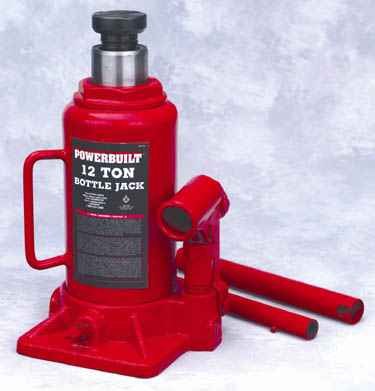 Powerbuilt 647501 12 Ton Bottle Jack
