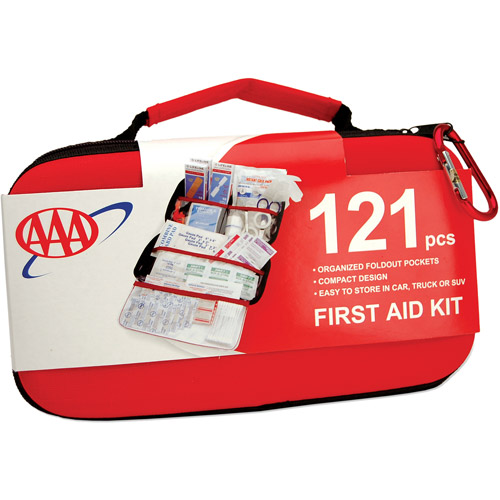 AAA Road Trip First Aid Kit, 121pc