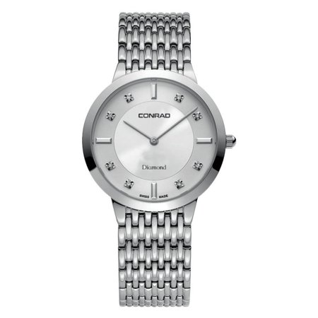 Men's Diamond Swiss Made Watch With Sapphire Glass 35MM