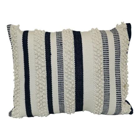 Better Homes & Gardens Navy Woven Pillow