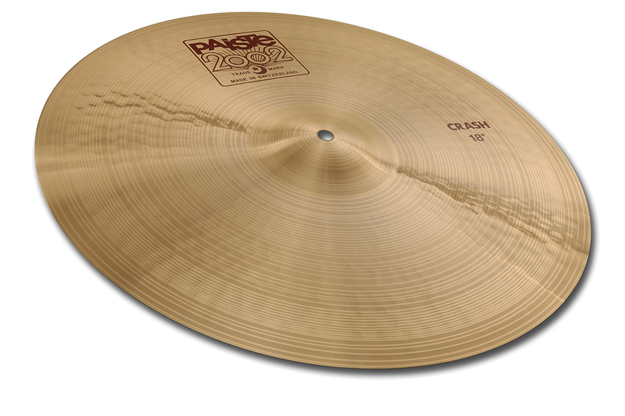 Paiste 2002 Crash Cymbal 17 Inches by Paiste