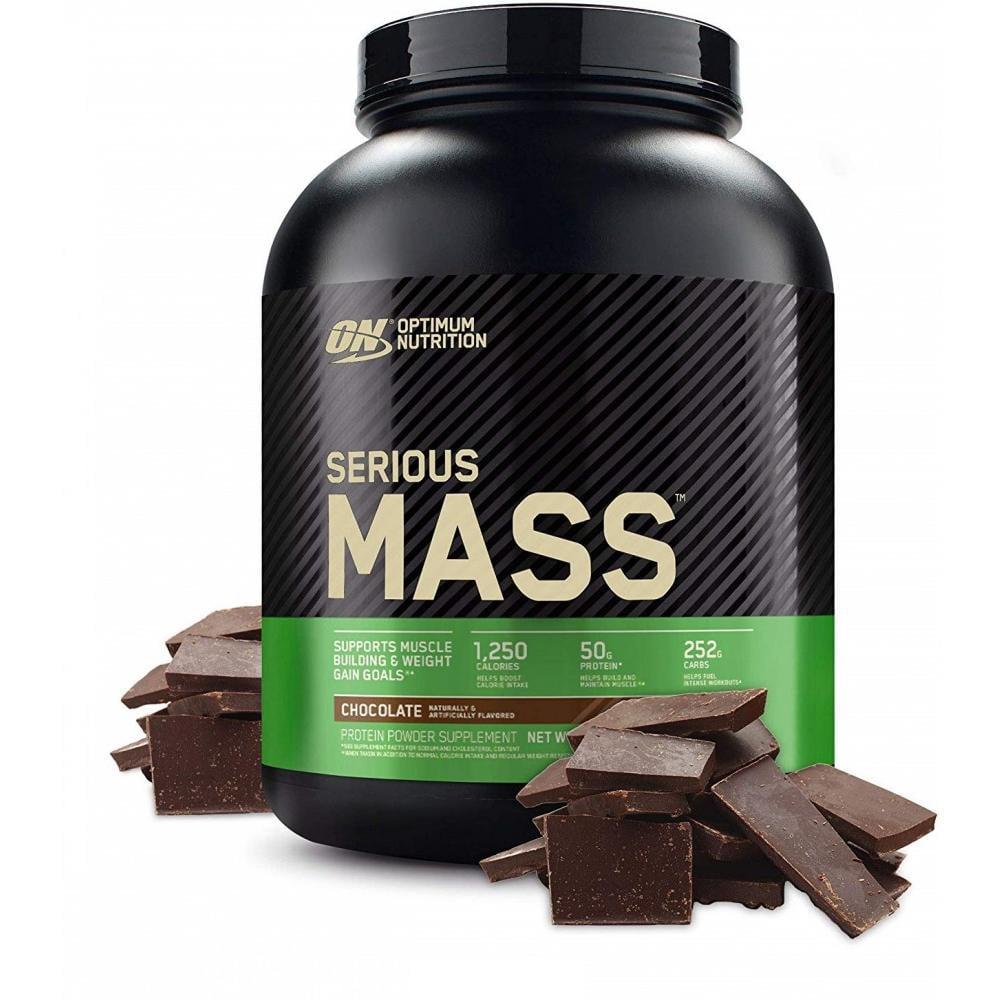 Optimum Nutrition Serious Mass Protein Powder, Chocolate, 50g Protein, 6 Lb - Walmart.com