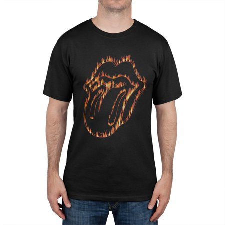 Rolling Stones - Flaming Tongue T-Shirt