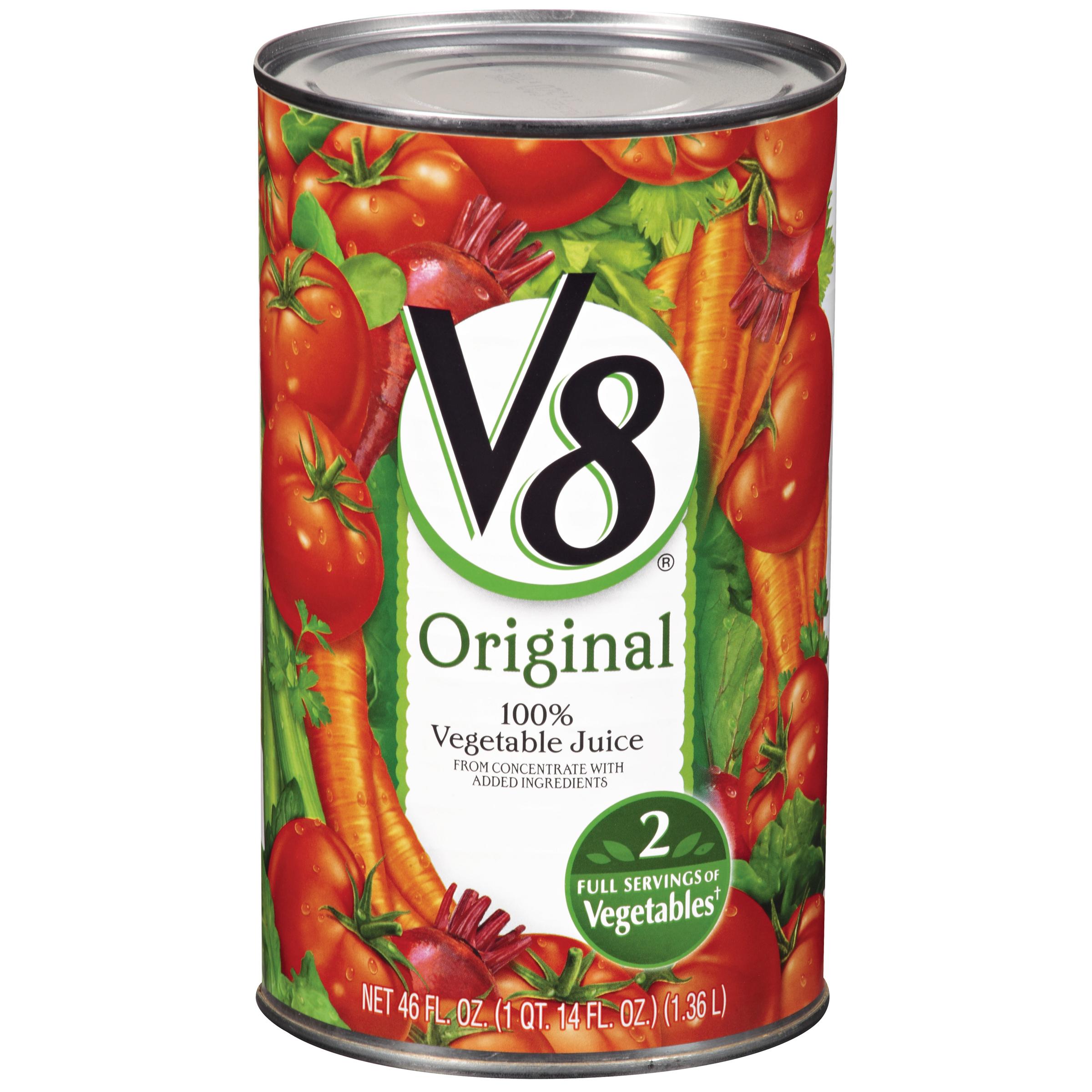 V8 Original 100% Vegetable Juice 46oz Can