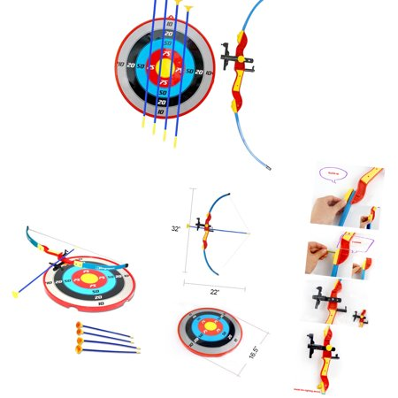 Liberty Imports Sport Toy Archery Bow And Arrow Set for Kids With Suction