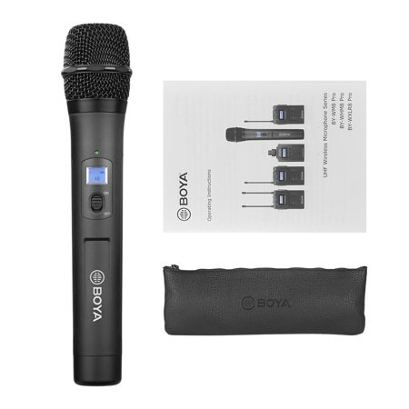 BOYA BY-WHM8 Pro 48-Channel UHF Wireless Handheld Microphone Dynamic Mic for Karaoke Interview Meeting Audio Recording Stage Singing Compatiable with BOYA BY-WM8 /BY-WM6 Receiver - image 5 de 7