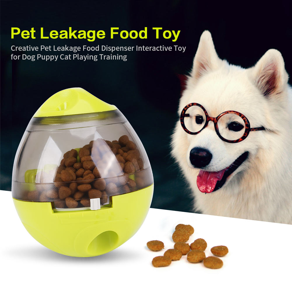 Creative Pet Leakage Food Dispenser Interactive Toy for Dog Puppy Cat Playing Training, Pet Leakage Food Toy, Pet Dog Toy