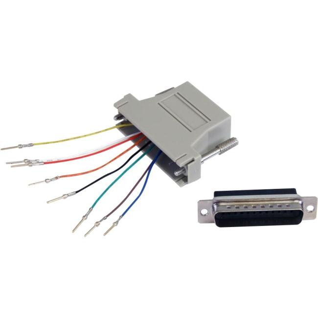 StarTech.com DB25 to RJ45 Modular Adapter M/F GC258MF