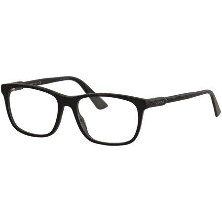 Gucci Gucci Logo GG0490O Eyeglasses 006 Black Gucci Gucci Logo GG0490O Eyeglasses 006 Black