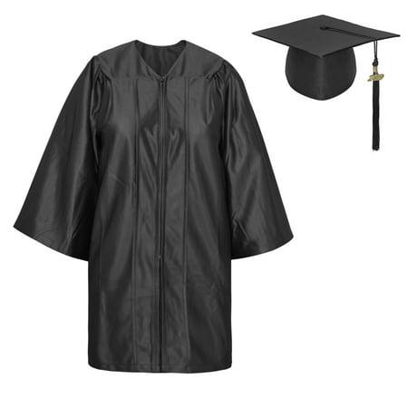 TopTie Unisex Kindergarten Kids Graduation Set Gown Cap Tassel 2019, (Popular Children's Halloween Costumes 2019)