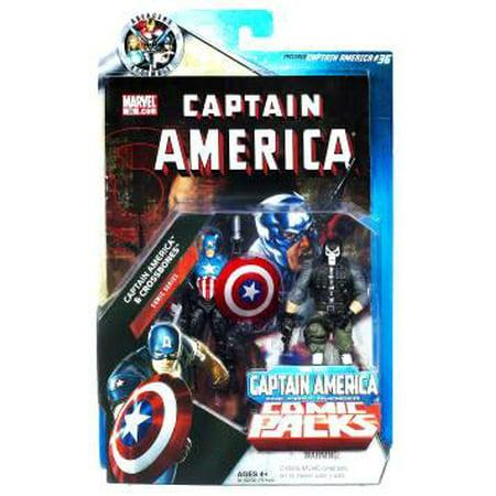 Marvel Universe Captain America & Crossbones Action Figure 2-Pack Marvel Captain Universe