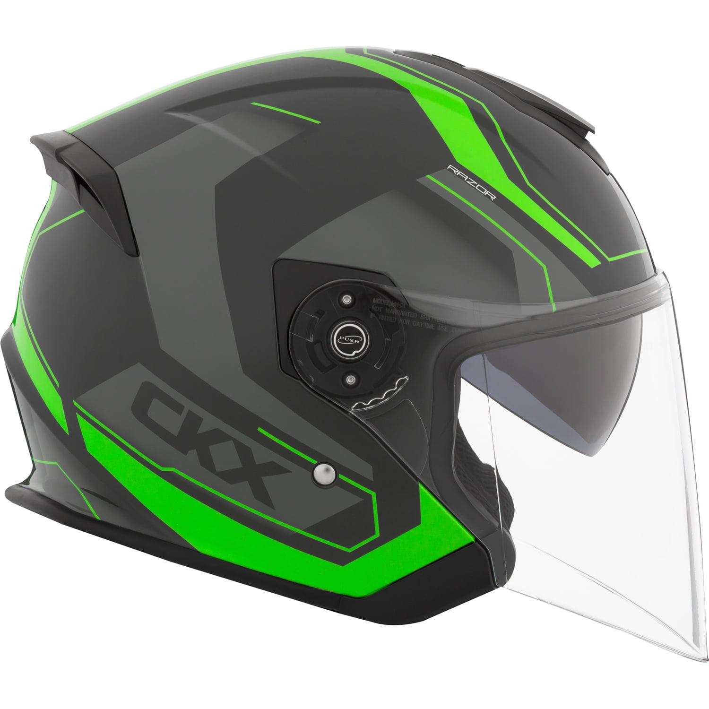 CKX Sting Razor RSV Open Face Helmet Single Shield