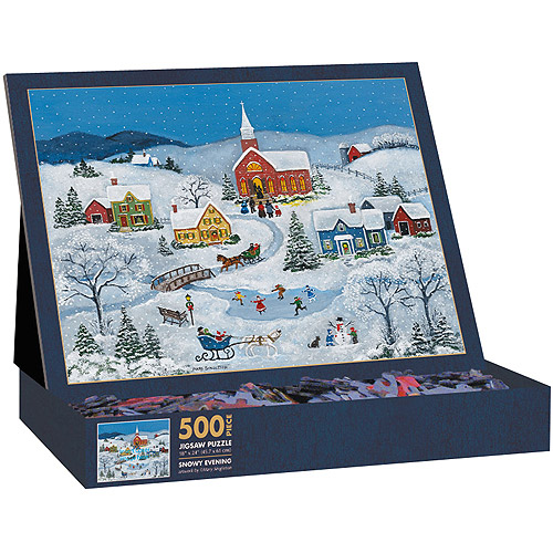 Lang Snowy Evening Puzzle