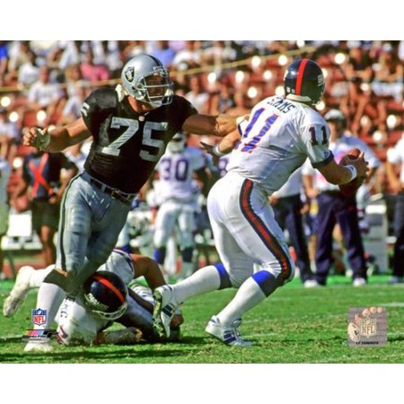 Howie Long 1992 Action Photo Print