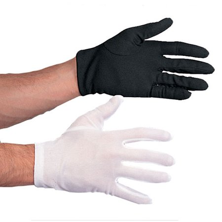 Polyester Gloves White Costume Accessory](Snow White Costume For Sale)