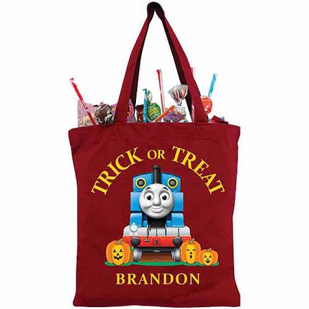 Personalized Thomas & Friends Thomas Red Trick-or-Treat Bag