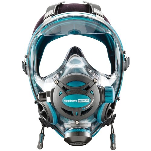 Ocean Reef Diving Mask Neptune Space G.divers OR025017 Emerald M L Medium Large by Ocean Reef