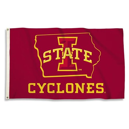 BSI Products 35022 Iowa State 3 x 5 ft. Flag with Grommets - image 1 of 1