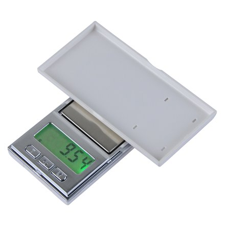 200g/0.01g High Accuracy Electronic Balance Pocket Scale Mini LCD Digital Jewelry Scales Weighing Tool - image 1 of 7