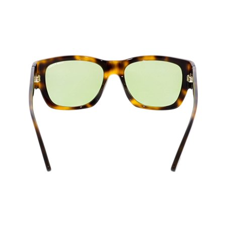 Tom Ford Men's Mirrored Stephen FT0493-52N-54 Brown Square Sunglasses - image 1 de 3