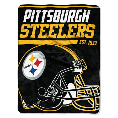 "NFL Pittsburgh Steelers ""40-Yard Dash"" 46""x 60"" Micro Raschel Throw"